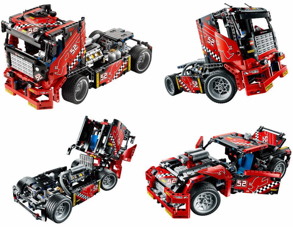 neu lego technic 42041 renn truck 2 in 1 modell neu. Black Bedroom Furniture Sets. Home Design Ideas